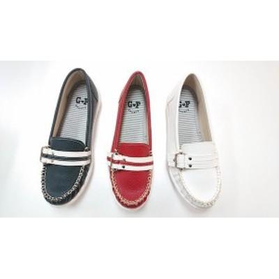 ゴールデンフット レディースシューズ  785  モカシン 婦人靴
