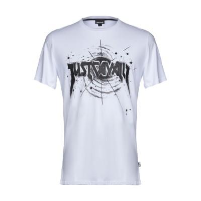 ジャストカヴァリ JUST CAVALLI T シャツ ホワイト XS 100% コットン T シャツ
