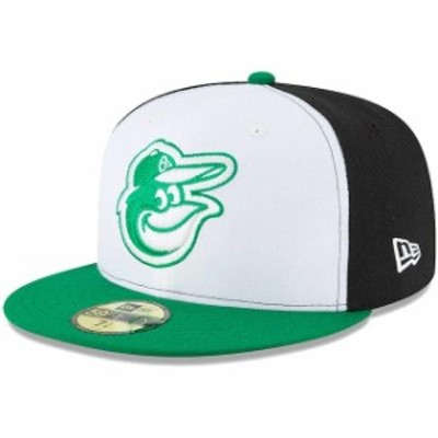 New Era ニュー エラ スポーツ用品  New Era Baltimore Orioles White/Green Earth Day 59FIFTY Fitted Hat