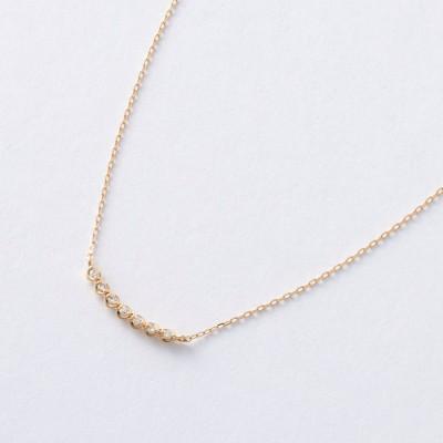 10金ダイヤモンドペンダント[日本製](アルコアイリス/ARCOIRIS)
