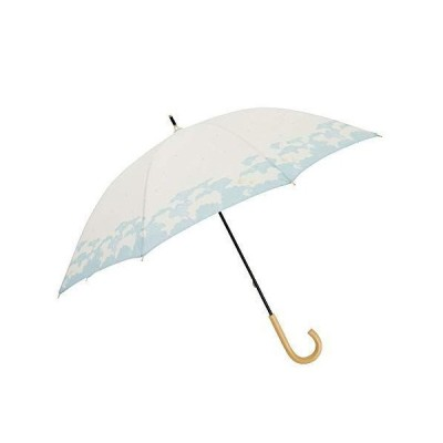小川(Ogawa) 長傘 晴雨兼用日傘 手開き 50cm 8本骨teno?/Naturel くもの世界 UV加工 はっ水 安全カバー付き 鳥