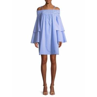 レンビー レディース ワンピース Smocked Off Shoulder Dress