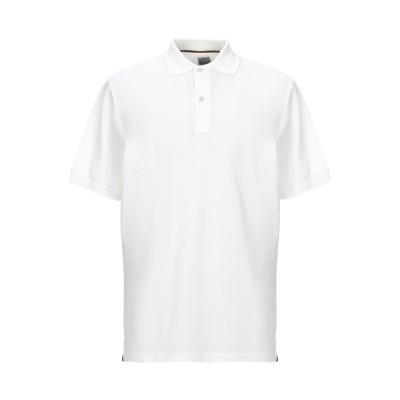 ポール・スミス PAUL SMITH ポロシャツ ホワイト S コットン 100% ポロシャツ