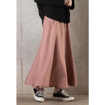OandI / OandI/オーアンドアイ フレアーサテンスカート