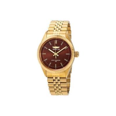 腕時計 インヴィクタ メンズ Invicta Specialty Brown Dial Men's Watch 29387