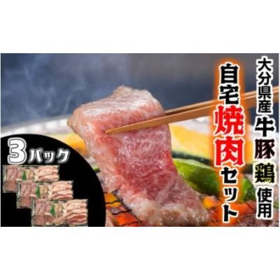 【大分県産】牛・豚・鶏の自宅焼肉セット