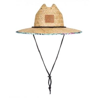 ROXY/QUIKSILVER / OUTSIDER/クイックシルバー  ストローハット ロゴ MEN 帽子 > ハット