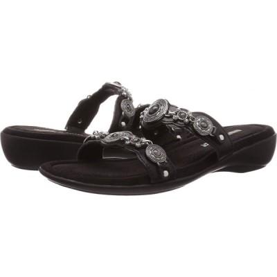 ミネトンカ Minnetonka レディース サンダル・ミュール シューズ・靴 Boca Slide III Black