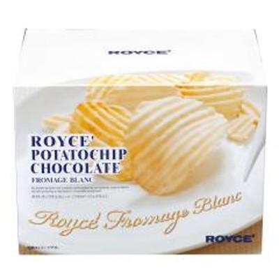 ROYCE'(ロイズ)10%OFFクーポン対象商品 ロイズ ポテトチップチョコレート[フロマージュブラン] クーポンコード:7CLY8DW