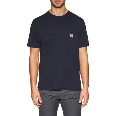 カーハート Carhartt WIP メンズ Tシャツ ポケット トップス carhartt pocket short sleeve t-shirt Dark Navy