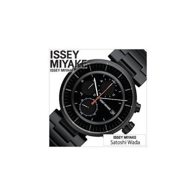 イッセイミヤケ 腕時計 ISSEY MIYAKE Satoshi Wada 和田 智 W ダブリュ メンズ ブラック SILAY002 セール