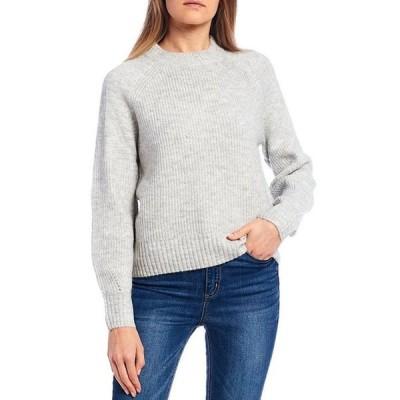 カッパーキー レディース パーカー・スウェット アウター Ribbed Knit Long Sleeve Sweater