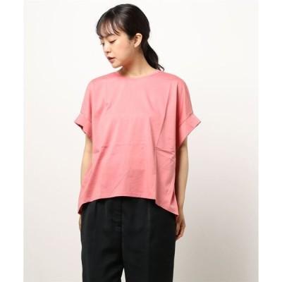 tシャツ Tシャツ 【HONEYSUCKLE ROSE】袖タックTシャツ