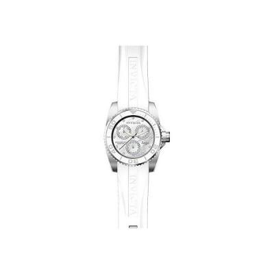インヴィクタ 腕時計 Invicta レディース エンジェル ホワイト Polyurethane バンド SS ケース クォーツ アナログ 腕時計 21701