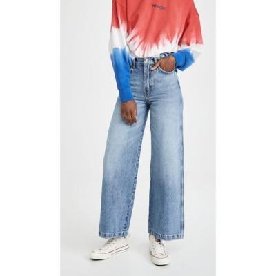 ラングラー Wrangler レディース ジーンズ・デニム ボトムス・パンツ Worldwide Wide Leg Long Jeans Sunny