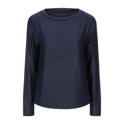 マジェスティック MAJESTIC FILATURES T シャツ ダークブルー 3 レーヨン 94% / ポリウレタン 6% T シャツ