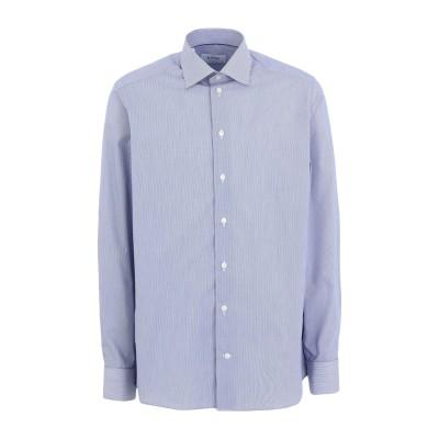 ETON シャツ ブルー 40 コットン 100% シャツ