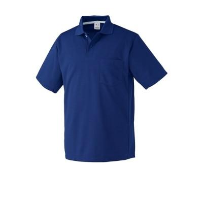KURODARUMA 26446 リラックスカット・吸汗速乾半袖ポロシャツ 作業服