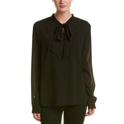 ニッサ シャツ トップス レディース NISSA Shirt black