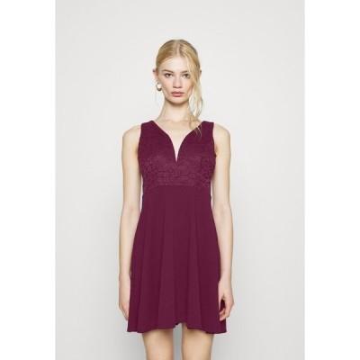 ヴァル ジー ワンピース レディース トップス CHRISTINA SKATER DRESS - Day dress - plum
