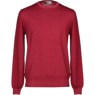 ヘリテイジ HERITAGE メンズ ニット・セーター トップス sweater Red