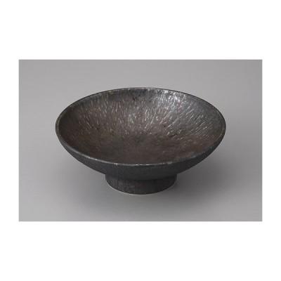 刺身鉢 向付 金結晶トチリ高台向付 おしゃれ 和食器 業務用 美濃焼 9a47-10-33g