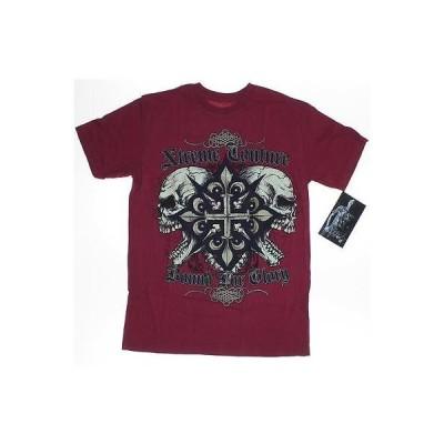 エクストリームクチュール アフリクション  Tシャツ トップス Xtreme Couture AFFLICTION メンズ Tシャツ Graphic Tee ミディアム ダーク レッド Regular LAFO