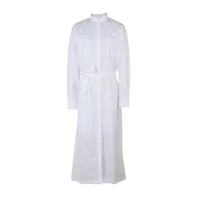 デパートメント 5 DEPARTMENT 5 7分丈ワンピース・ドレス ホワイト S 100% コットン 7分丈ワンピース・ドレス