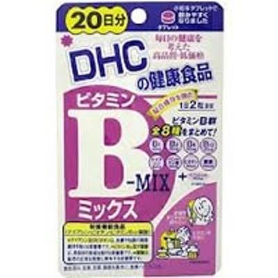 【ゆうパケット配送対象】DHC ビタミンBミックス 20日分 (サプリメント/サプリ)(メール便)