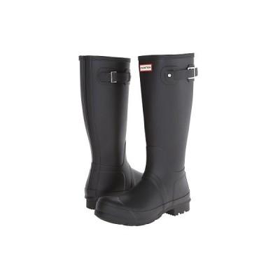 ハンター ブーツ&レインブーツ シューズ メンズ Original Tall Rain Boots Black
