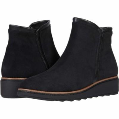 クラークス Clarks レディース ブーツ シューズ・靴 Sharon Heights Black Suede