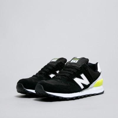 国内正規品♪ New Balance【ニューバランス】 WL574CNA レディース スニーカー ブラック/ホワイト