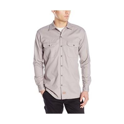 海外取寄せDickies メンズ 長袖作業シャツ US サイズ: X-Large カラー: グレイ並行輸入