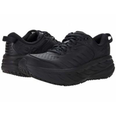 Hoka One One ホカオネオネ レディース 女性用 シューズ 靴 スニーカー 運動靴 Bondi SR Black/Black【送料無料】