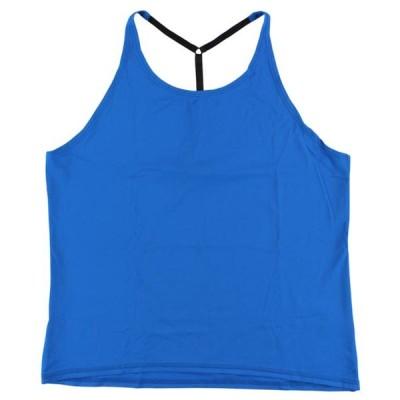 レディース 衣類 トップス ALALA Womens T Back Tank Top Blue M ブラウス&シャツ
