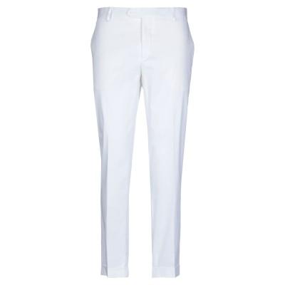 GAETANO AIELLO パンツ ホワイト 46 コットン 98% / ポリウレタン 2% パンツ