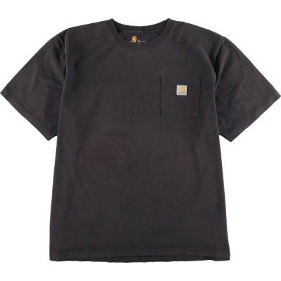 カーハート Carhartt 半袖 ワンポイントロゴポケットTシャツ メンズXXL /eaa159753