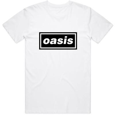 OASIS オアシス (結成30周年 ) - Decca Logo / Tシャツ / メンズ 【公式 / オフィシャル】(S)