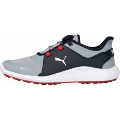 プーマ メンズ スニーカー シューズ PUMA Men's IGNITE Faten8 DISC Golf Shoes Quarry/Navy