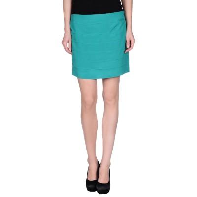 シルビアンヒーチ SILVIAN HEACH ミニスカート グリーン XS ポリエステル 97% / ポリウレタン 3% ミニスカート