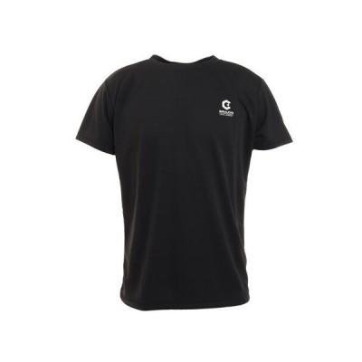 ジローム(GIRAUDM) 洗っても機能が続く UV 吸汗速乾 放熱素材 ドライプラスサイクルエアー 半袖Tシャツ 863GM1TP6694 BLK (メンズ)