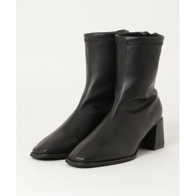 chumchum / minia / スクゥエアタイトブーツ WOMEN シューズ > ブーツ