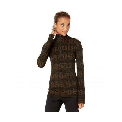 Icebreaker アイスブレイカー レディース 女性用 ファッション アクティブシャツ 250 Vertex Merino Long Sleeve 1/2 Zip Crystalline - Black