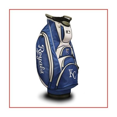 Team Golf MLB Kansas City Royals Victory Golf Cart Bag, 10-way Top with Integrated Dual Handle & External Putter Well, Cooler Pocket, Padded
