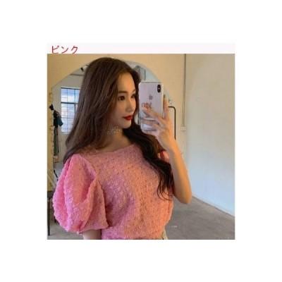 【送料無料】夏 年 女 韓国風 スウィート パフ 半袖 | 364331_A62824-6261476