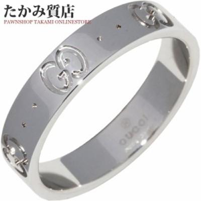 グッチ K18WG アイコンリング 指輪