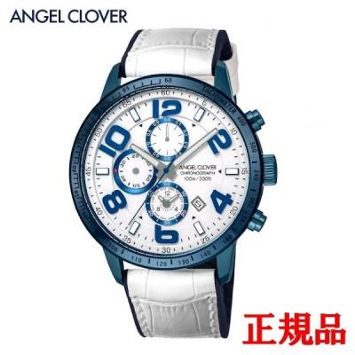 正規品 ANGEL CLOVER エンジェルクローバー LUCE メンズ腕時計 クォーツ 送料無料 LU44BNV-WH