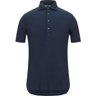 フィリッポ デ ローレンティス FILIPPO DE LAURENTIIS メンズ ポロシャツ トップス polo shirt Dark blue