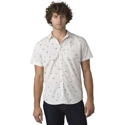プラーナ Prana メンズ 半袖シャツ スリム トップス Salerno Shirt - Slim Canvas