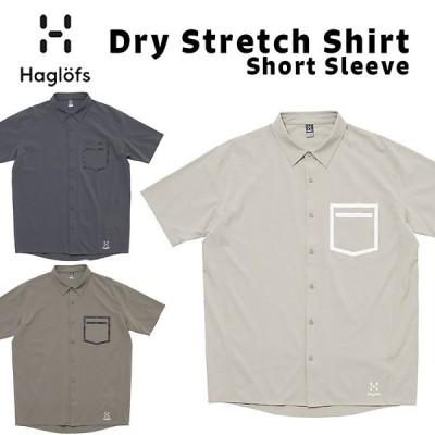 Haglofs ホグロフス Dry Stretch Shirt 半袖 吸汗速乾 ドライストレッチシャツ
